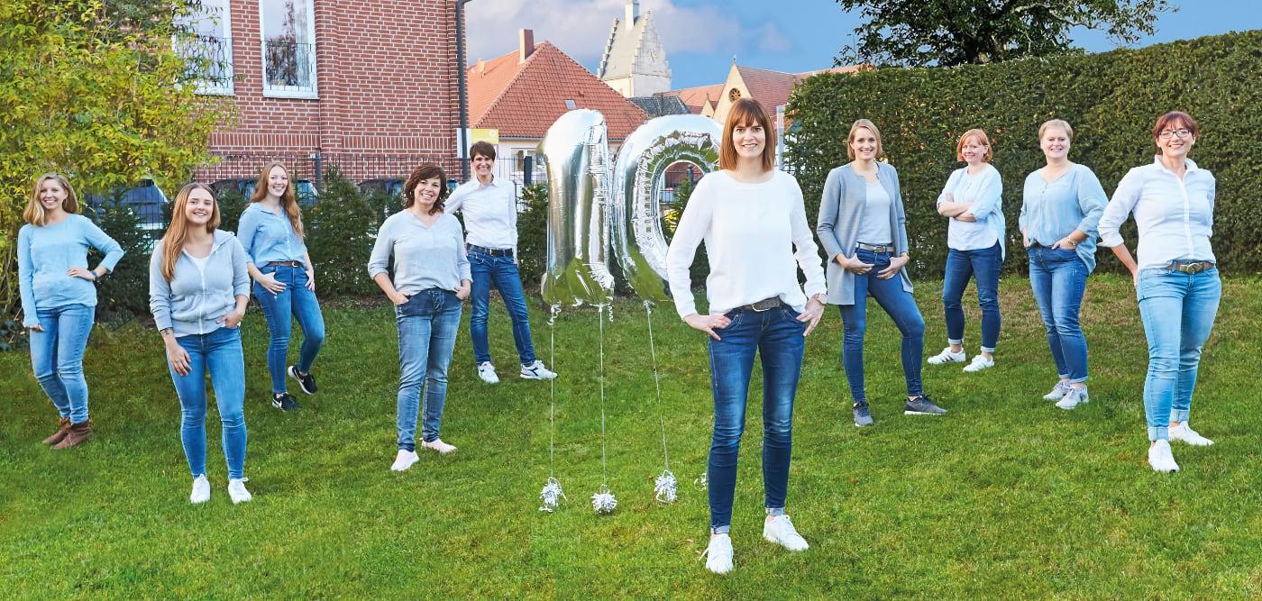10 Jahre Ergotherapie Marion Hülsmann